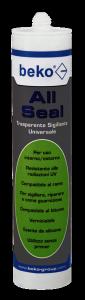 Sigillante Trasparente Cristallino All Seal BEKO