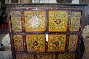 Cassapanca Vintage '800 proveniente dal Tibet