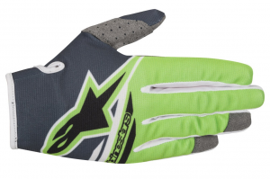 GUANTI MOTO CROSS ALPINESTARS 2018 RADAR FLIGHT ANTHRACITE GREEN FLUO
