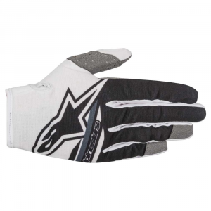 GUANTI MOTO CROSS ALPINESTARS 2018 RADAR FLIGHT WHITE BLACK