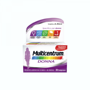 MULTICENTRUM DONNA INTEGRATORE MULTIVITAMINICO-MULTIMINERALE PER DONNE