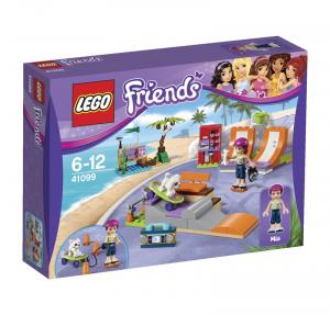 LEGO FRIENDS LO SKATE PARK DI HEARTLAKE 41099