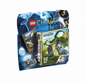 LEGO LEGENDS OF CHIMA RAMPICANTI VORTICOSI 70109