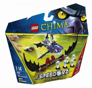 LEGO LEGENDS OF CHIMA L'ASSALTO DEL PIPISTRELLO 70137