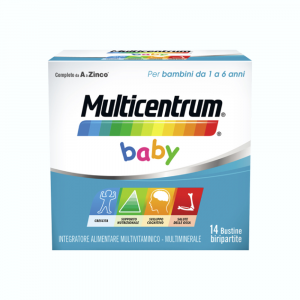 MULTICENTRUM BABY - INTEGRATORE DI VITAMINE E MINERALI PER BAMBINI DA 1 A 6 ANNI