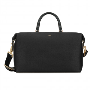 Hand and shoulder bag Furla BLOGGER 902772 ONYX+PETALO