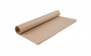 Carta alimentare antiunto kraft biodegradabile - 43x33cm