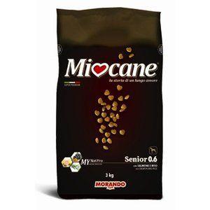 MIOCANE SENIOR MANGIME SECCO SALMONE E RISO 3 KG