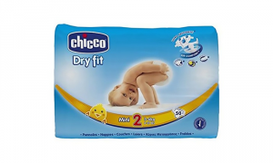 PANNOLINI CHICCO DRY FIT 2' TAGLIA MINI 3/6 kG