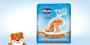 PANNOLINI CHICCO DRY FIT 6' TAGLIA EXTRA LARGE 16/30KG