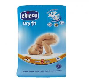 PANNOLINI CHICCO DRY FIT 5' TAGLIA JUNIOR 34PZ / 12-25 KG