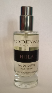 Yodeyma HOLA Eau de Toilette 15ml mini Profumo Uomo no tappo no scatola
