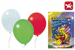 PALLONCINI BUSTA 25 ASSORTITI PB127 PEGASO new