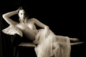 Nudo di donna seppia #52472