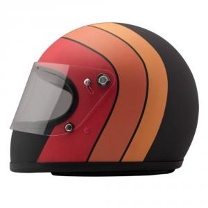 DMD ROCKET RACING FUOCO Full Face Helmet - Multicolor