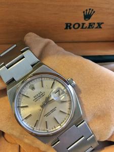 Orologio secondo polso Vintage Rolex Oyster Quartz Datejust