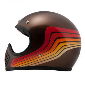 DMD SEVENTYFIVE WAVES Full Face Helmet - Multicolor