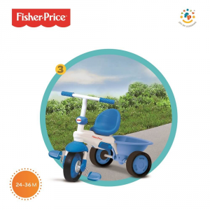 Triciclo Mod. Elitè Azzurro Fisher-Price