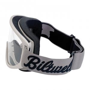 BILTWELL Moto Goggle BOLTS Motorcycle Goggles - Black