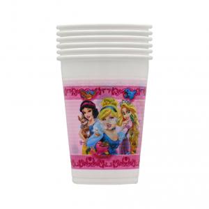 Bicchieri in plastica le Principesse Disney