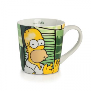 TAZZA ALTA MUG HOMER SIMPSON IN PORCELLANA, EGAN