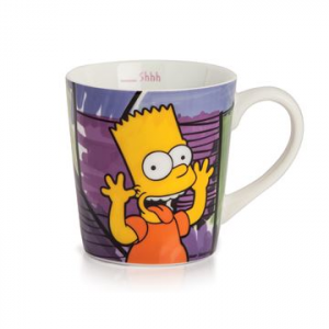 TAZZA ALTA MUG BART SIMPSON IN PORCELLANA, EGAN