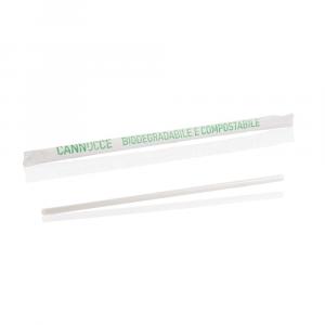 Cannucce biodegradabili imbustate 5mm