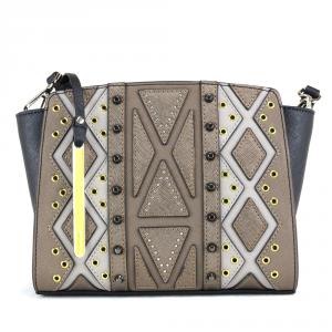 Shoulder bag Cromia PERLA DIAMOND 1403397 BRONZO