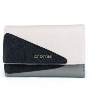 Woman wallet Cromia LUXURY 2620589 POLVERE+BEIGE+NERO
