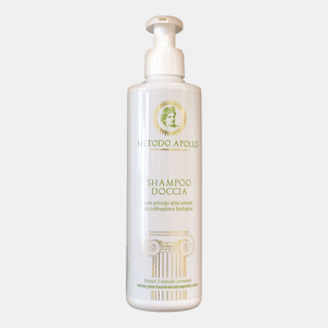 SHAMPOO SHOWER with active ingredients extracted from organic cultivation