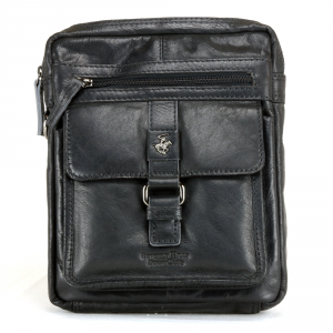 Borsa a tracolla Beverly Hills Polo Club BERLINO BH-1122 NERO
