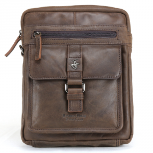 Borsa a tracolla Beverly Hills Polo Club BERLINO BH-1122 T. MORO