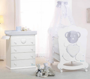 Lettino collezione Charme Azzurra Design