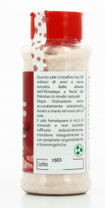 SALE CRISTALLINO HIMALAYANO macinato fino da 250 g