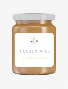 Golden Milk: curcuma, latte vegetale e miele.