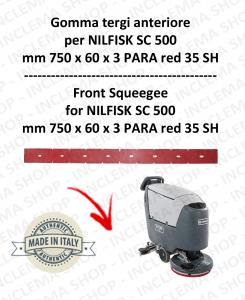 SC 500 GOMMA TERGI anteriore per lavapavimenti  NILFISK