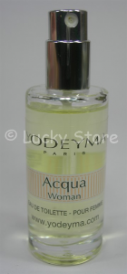 Yodeyma ACQUA WOMAN Eau de Parfum 15ml mini Profumo Donna no tappo no scatola