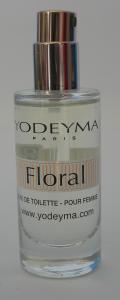 Yodeyma FLORAL Eau de Toilette 15ml mini Profumo Donna no tappo no scatola