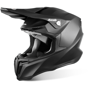 CASCO MOTO CROSS AIROH TWIST COLOR BLACK MATT TW11