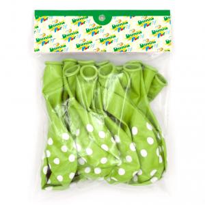 Palloncini Verdi a Pois
