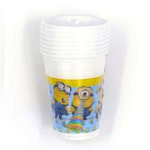 Bicchieri in plastica Minions