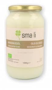 OLIO DI COCCO deodorato e biologico 1000 g