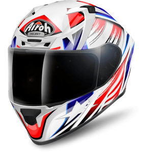 CASCO MOTO INTEGRALE AIROH VALOR COMMANDER GLOSS VACO18