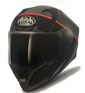 CASCO MOTO INTEGRALE AIROH VALOR 2018 ECLIPSE ORANGE MATT VAEC32