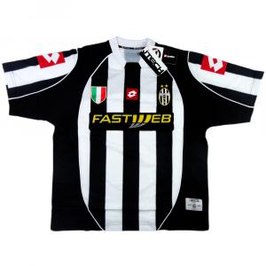 2002-03 Juventus Maglia Home *Cartellino e Confezione
