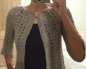 Uncinetto Top down - Cardigan