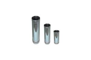 Tubo per canna fumaria acciaio inox Ø 200 X 1000 HMM TU-CFAI2001K