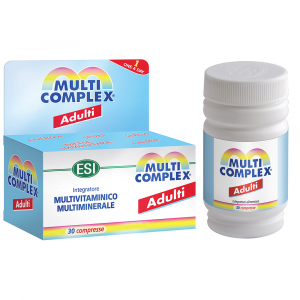 ESI MULTICOMPLEX ADULTI VITAMINE E MINERALI 30 COMPRESSE