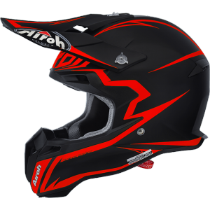 CASCO MOTO CROSS AIROH TERMINATOR 2.1 FIT ORANGE MATT