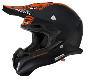 CASCO MOTO CROSS AIROH TERMINATOR 2.1 COM ORANGE MATT